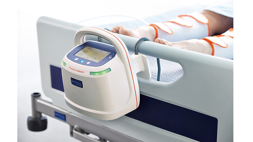 Flowtron-ACS900-prevention-tev-thrombo-embolie-veineuse-pompe