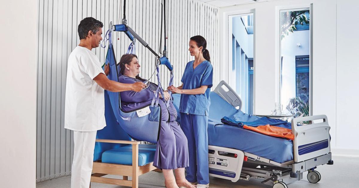 Prendre soin en toute sécurité des patients à forte corpulence