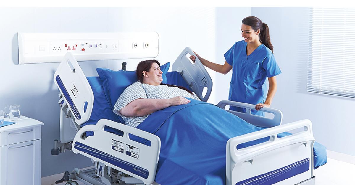 Votre établissement de soins est-il conçu pour accueillir des patients à forte corpulence ?